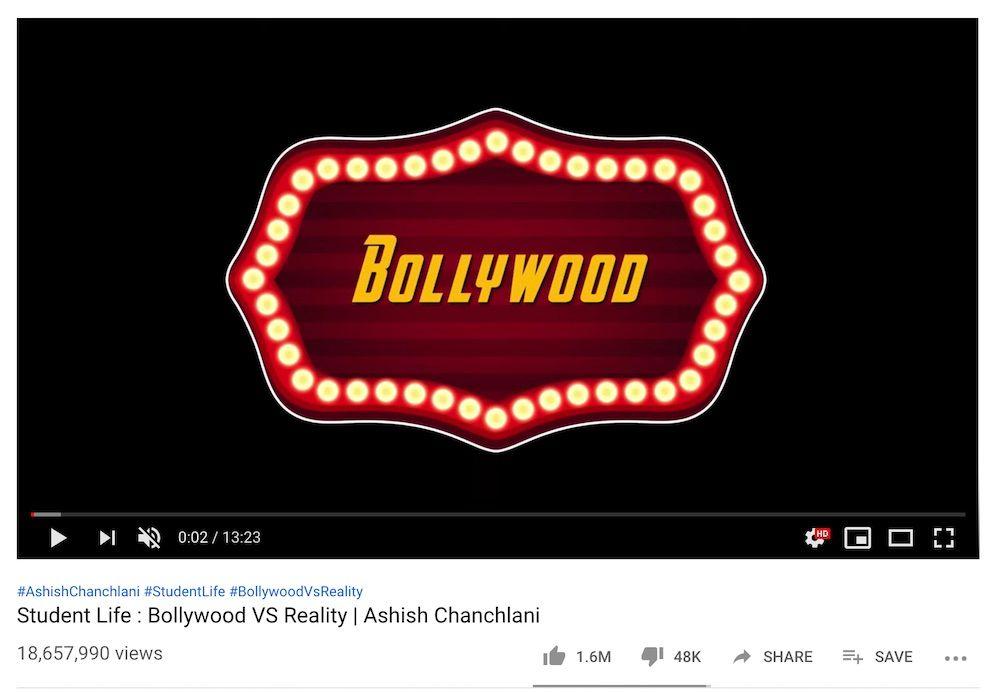 Student Life: Bollywood VS Reality by Ashish Chanchlani