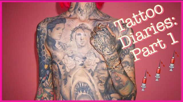 Jeffree Star's Tattoo Diaries - YouTube Video Series