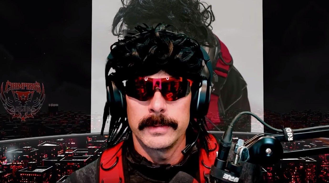 Twitch Streamer DrDisrespect