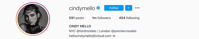 Cindy Mello Instagram