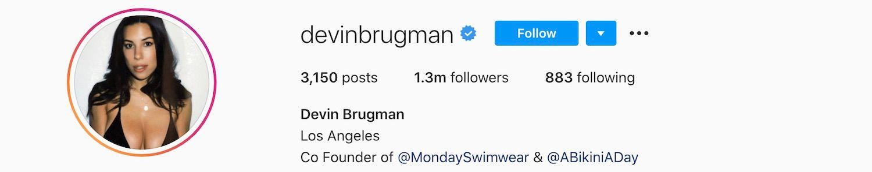 Devin Brugman Instagram