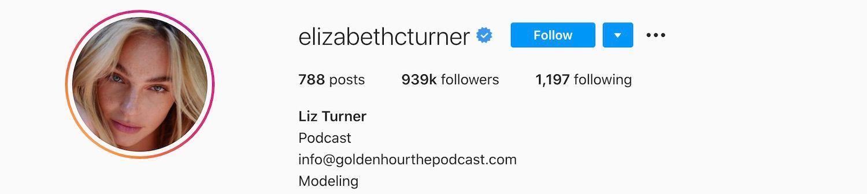 Elizabeth Turner Instagram