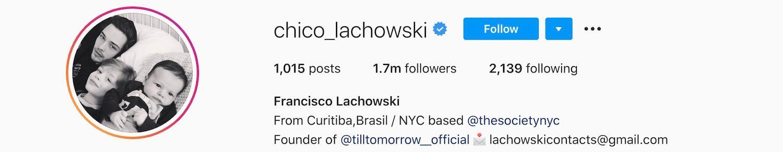 Francisco Lachowski Instagram