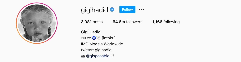 Gigi Hadid Talks Pregnancy & Cheek Fillers On Instagram