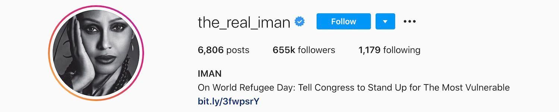 Iman Abdulmajid Instagram
