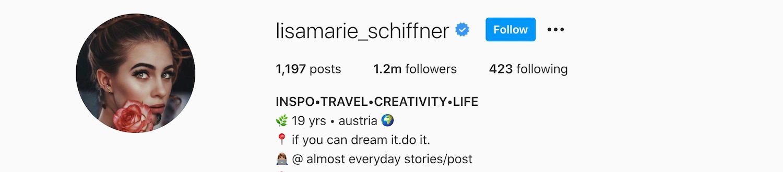 Lisa Marie Schiffner Instagram