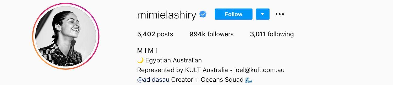 Mimi Elashiry Instagram