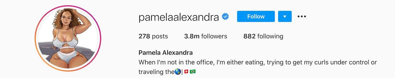 Pamela Alexandra Instagram