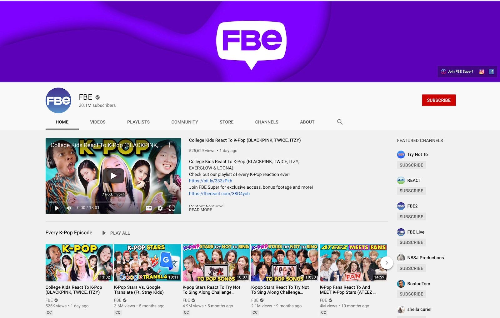 FINE BROTHERS ENTERTAINMENT YouTube