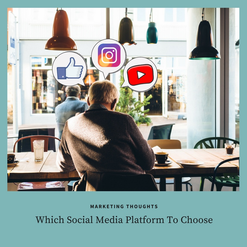 Choose the right social media platform for your campaign.