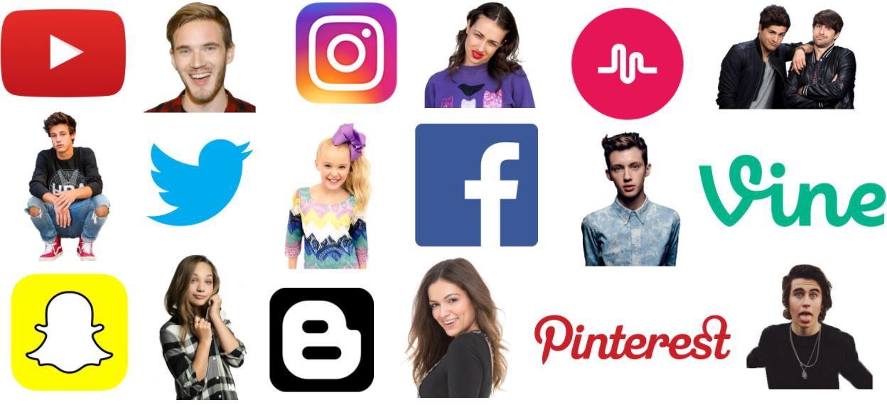 Generation Z follow influencers on all major social media platforms.