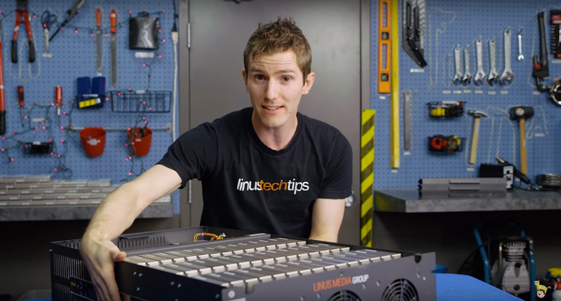 LinusTechTips produces high-quality tech product reviews.