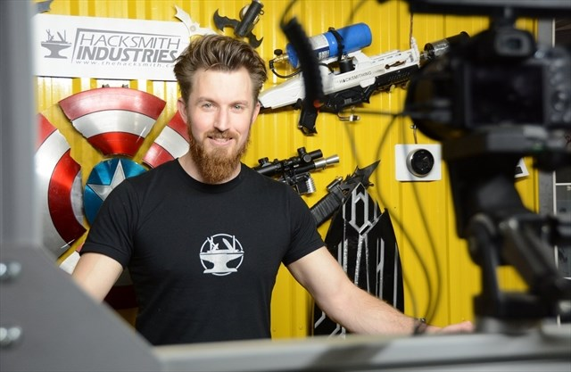 The Hacksmith is a top Canadian tech YouTuber.