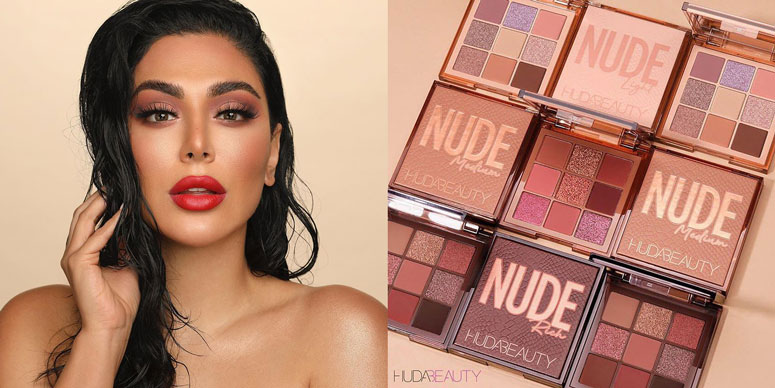 Huda Beauty is the brand created by professional makeup artist Huda Kattan.